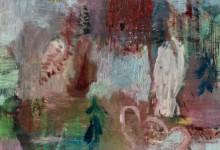 frühbeet, 2014, Öl auf Holz, 37,5 x 27,5 cm