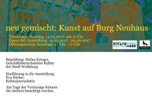 neu gemischt: Kunst auf Burg Neuhaus