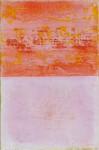 rosa Horizont 2007, Mischtechnik auf Leinwand, 30 x 20 cm
