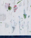 mit blau 2006, Mischtechnik auf Leinwand, 60 x 50 cm