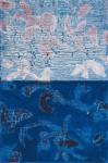 mitternachtsblau 2007, Mischtechnik auf Leinwand, 30 x 20 cm