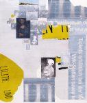 Lilith, 20017, Collage auf Leinwand, 145 x 120 cm